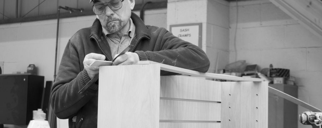 bespoke joinery hand finishing