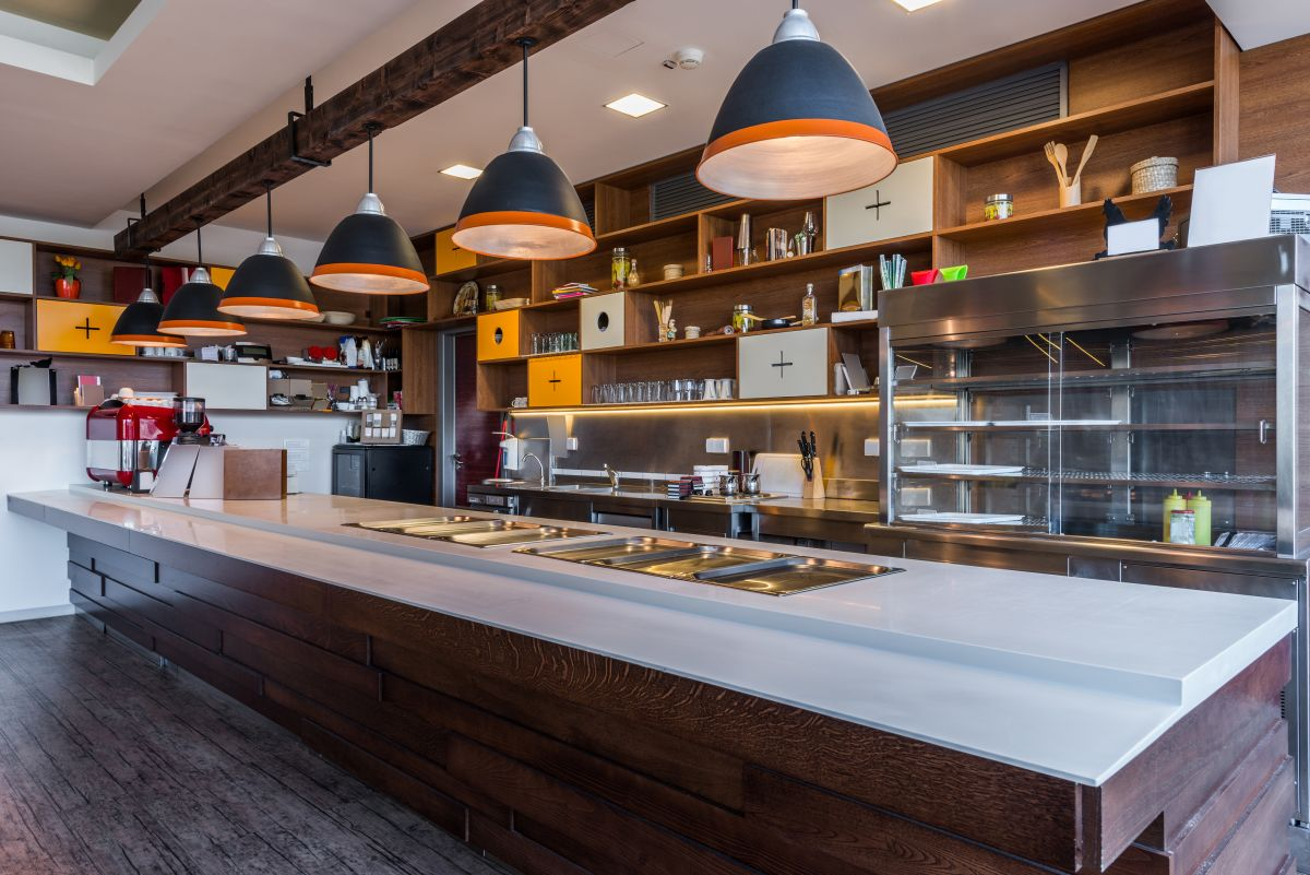 restaurant servery design