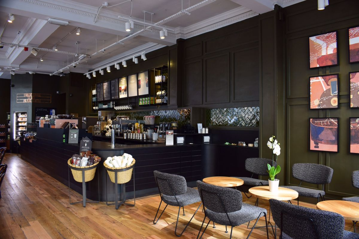 Caf 233 Amp Coffee Shop Counters George Thomas Joinery