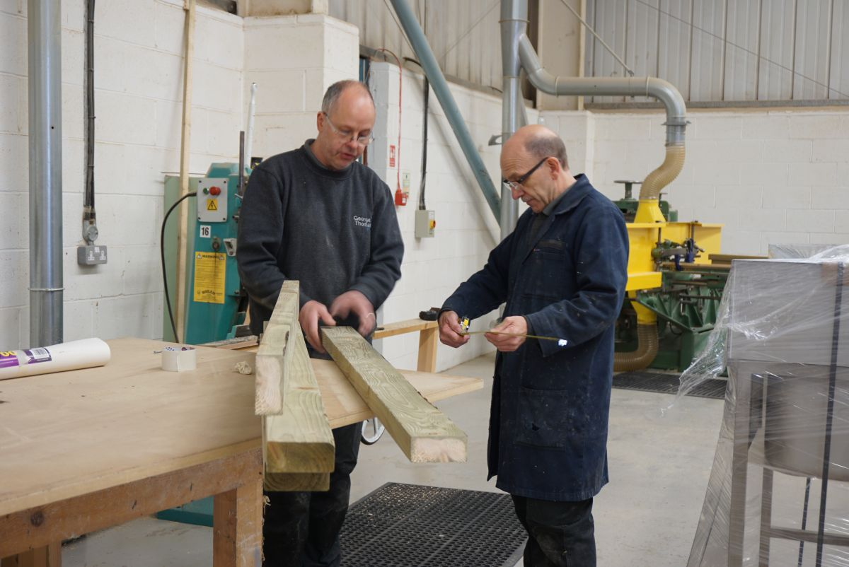 bespoke joinery measurement checks