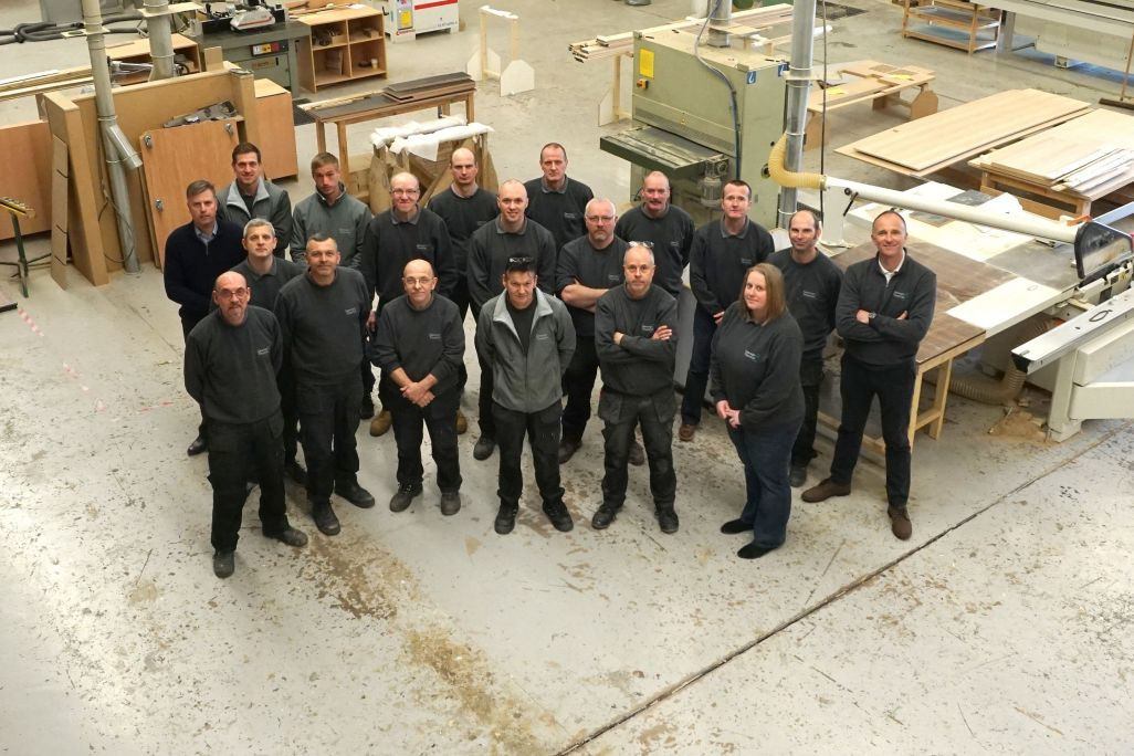 bespoke joinery employees George Thomas