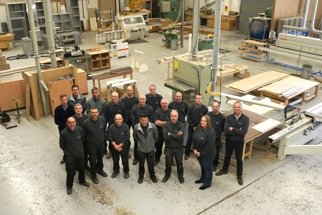 george thomas bespoke joinery group employees