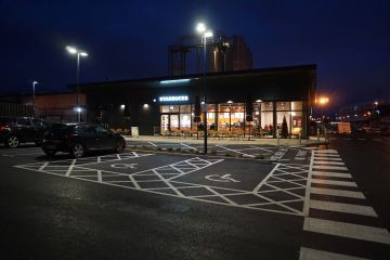 Starbucks - West Bromwich - George Thomas Joinery (1)